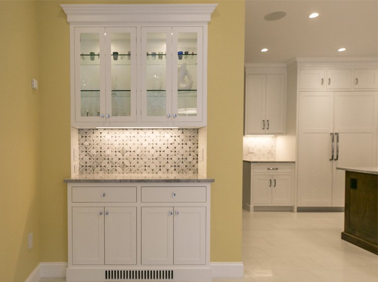 kitchen design tricks hutch unit