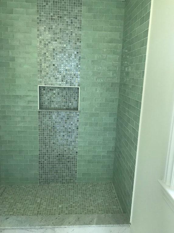 bathroom build and renovation