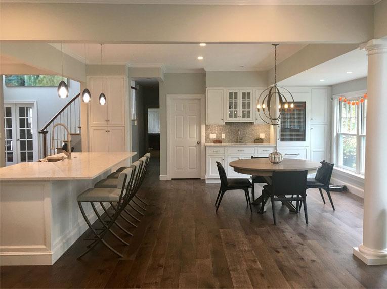 build kitchen space
